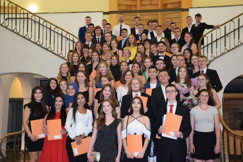 Feierliche Verabschiedung der Abiturientinnen und Abiturienten 2019