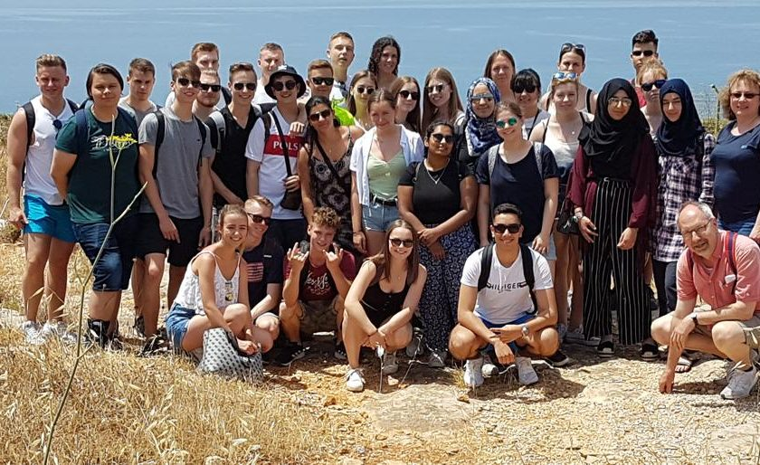 Malta with two English classes