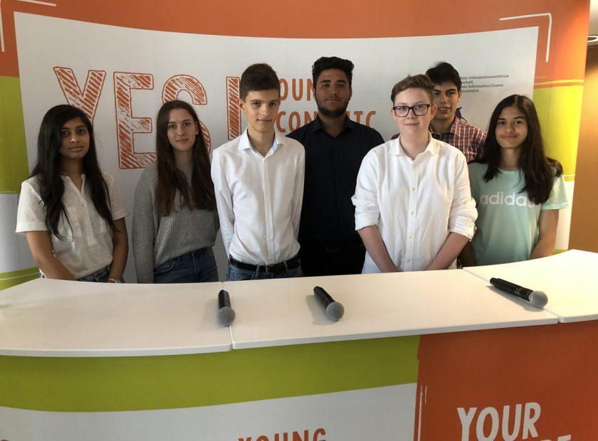 Team Hohe Landesschule beim Young Economic Summit 2019 – Starker Auftritt in der heißesten Stadt Deutschlands