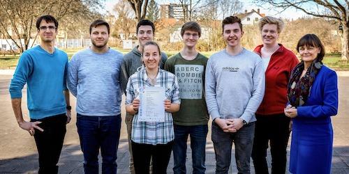 Hohe Landesschule erreicht 5. Platz beim Tag der Mathematik in Frankfurt