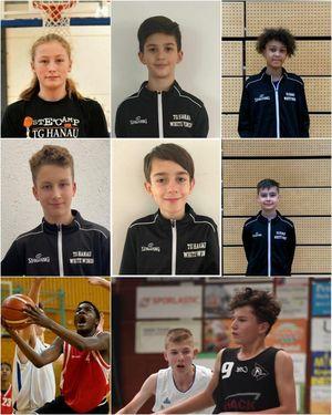 Talente der Basketballabteilung in den Kadermaßnahmen des Verbandes